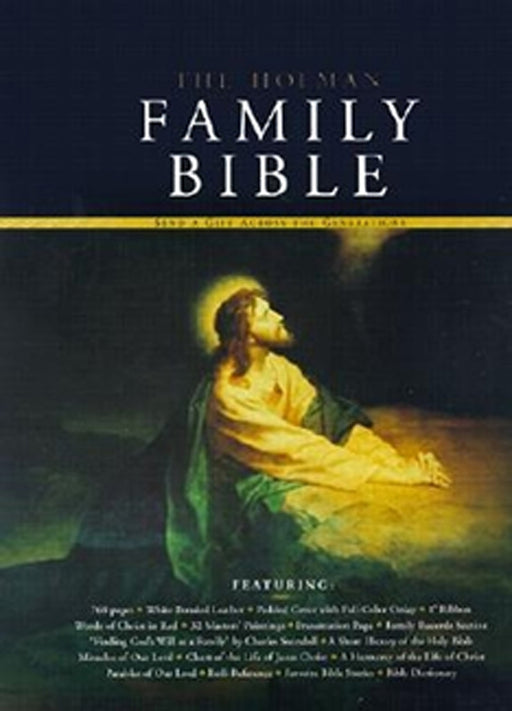 KJV Holman Family Bible - Deluxe Edition-White