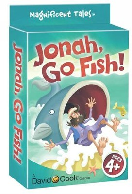 Jonah, Go Fish! Jumbo Card Game