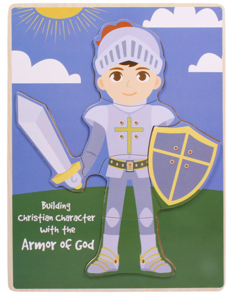 Armor of God Build-a-Kid Puzzle