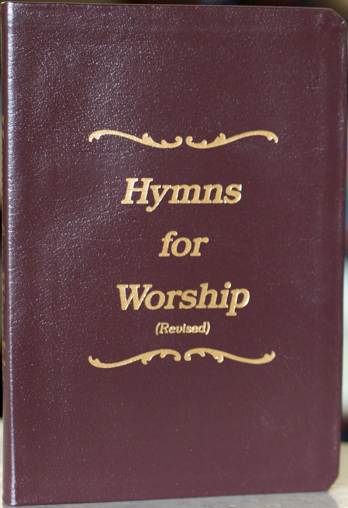 Hymns for Worship Leather Songbook
