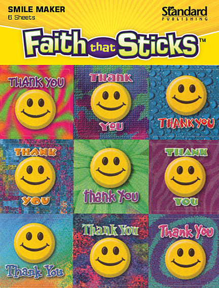 Thank You Smiles Stickers
