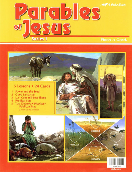 Parables of Jesus 1 - Abeka Flash-A-Card