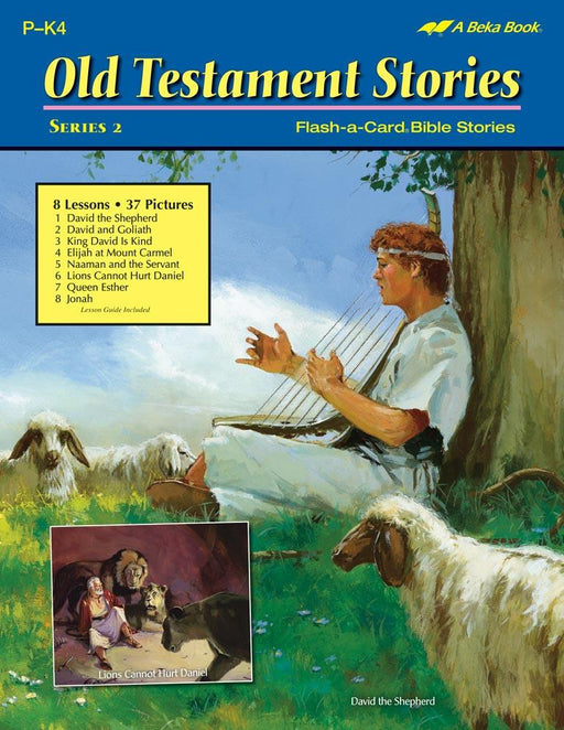 Old Testament Stories Series 2 Flash-A-Card Bible Stories - Book Format