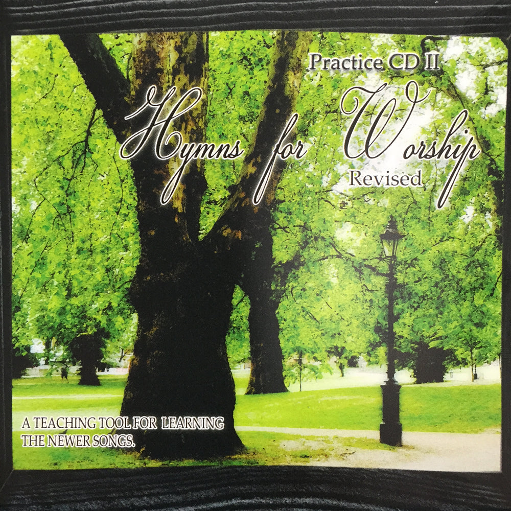 Hymns For Worship Practice CD #2