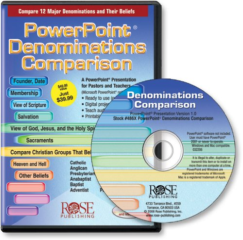 PowerPoint Denominations Comparison