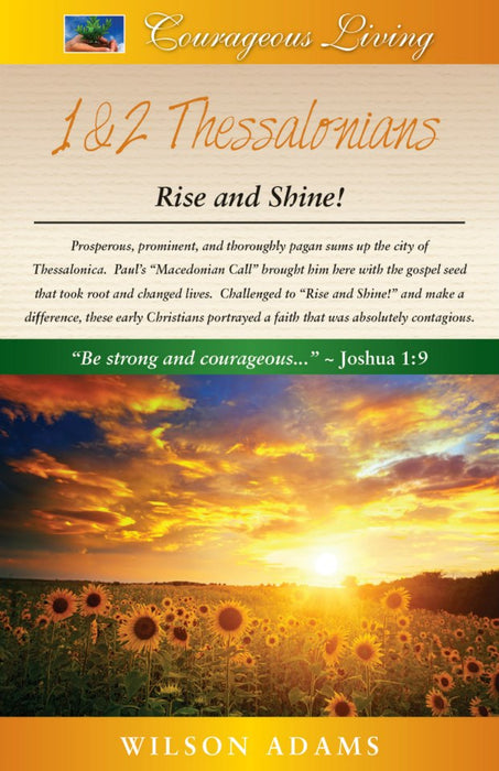 1 & 2 Thessalonians: Rise and Shine!