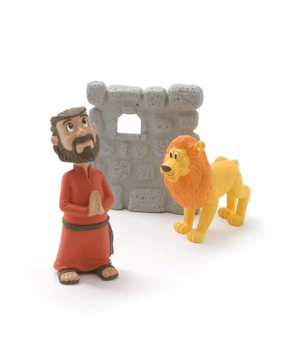 Daniel & the Lion's Den Figurine Set - Tales of Glory