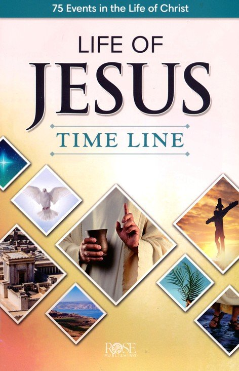 Life of Jesus Time Line Pamphlet