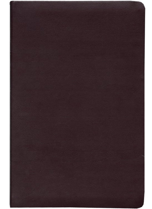 NAS Ultrathin Reference Bible - Burgundy Bonded