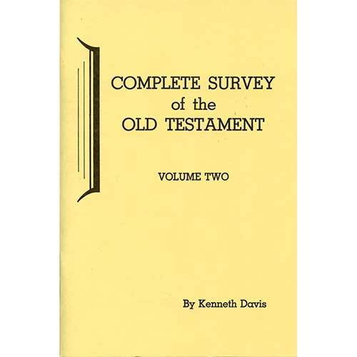 Complete Survey of the Old Testament - Vol. 2