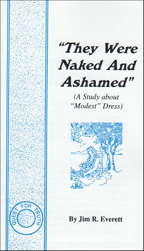 """They Were Naked and Ashamed"""