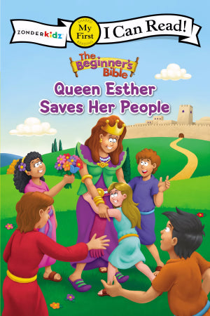 Queen Esther Saves God's People - I Can Read! Book