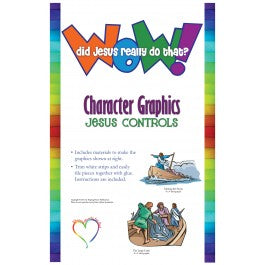 Wow! Did Jesus Really Do That? - Character Graphics: Jesus Controls