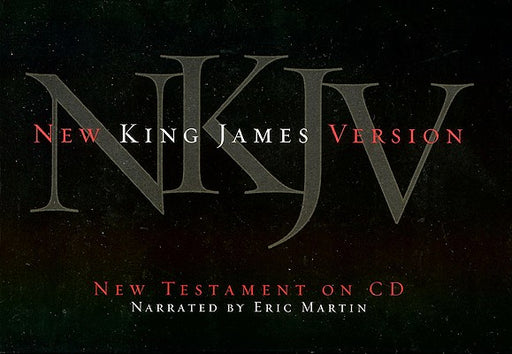 Audio Bible NKJV New Testament on CD - Eric Martin