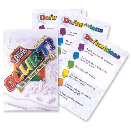 Bible Blurt Card Game (Big Deal)