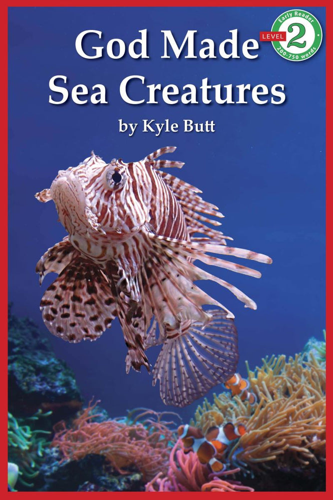 God Made Sea Creatures - Early Reader Level 2