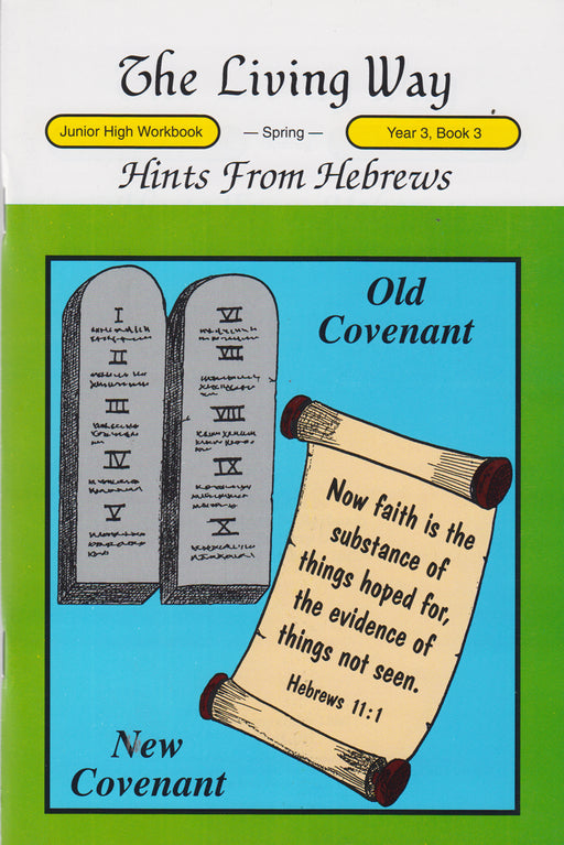 JUNIOR HI 3-3 ST - Hints from Hebrews