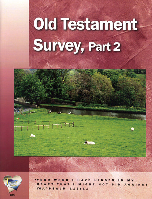Old Testament Survey, Part 2  (Word in the Heart, 8:4)
