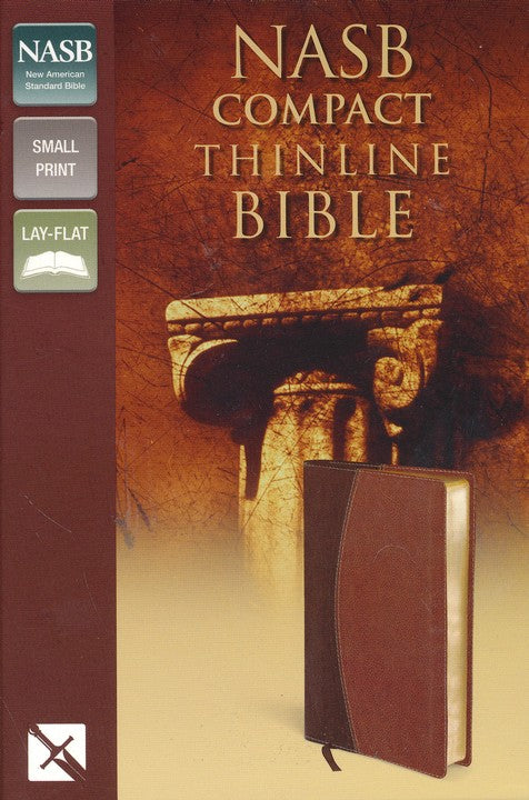 NAS Compact Thinline Bible DuoTone Mahohany/Chocolate