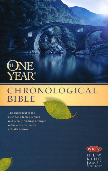 The One Year Chronological Bible - NKJV - Paperback