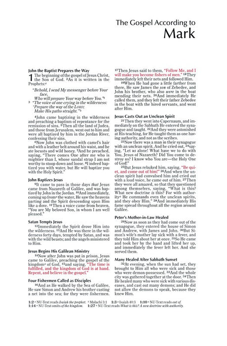 NKJV Note-Taker's Bible Hardback