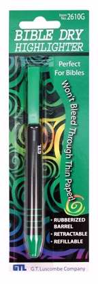 Bible Dry Refillable Highlighter - Green