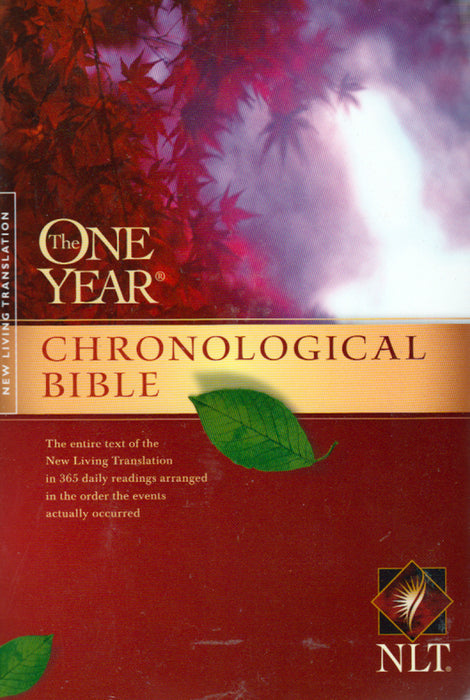 The One Year Chronological Bible-NLT - pb