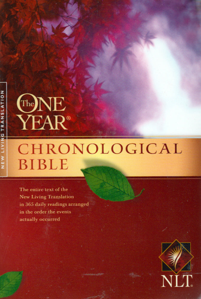 The One Year Chronological Bible - NLT - Paperback