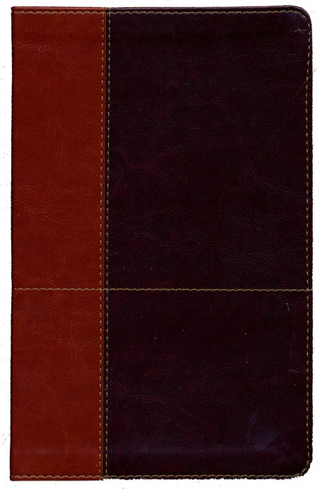Tan/Dark Brown Leathersoft Cover