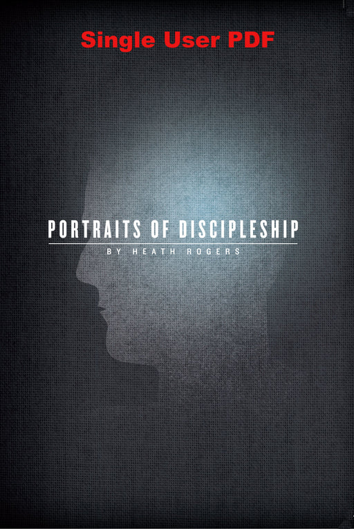 Portraits Of Discipleship - Downloadable Single User PDF