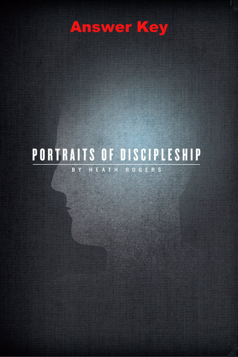 Portraits of Discipleship - Downloadable Answer Key PDF