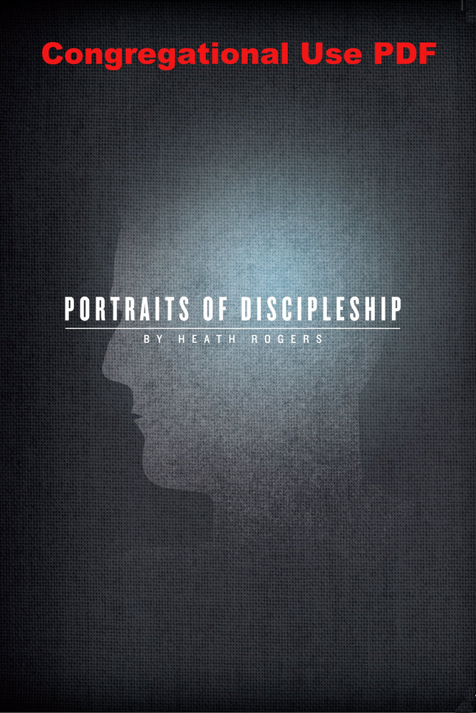 Portraits Of Discipleship - Downloadable Congregational Use PDF