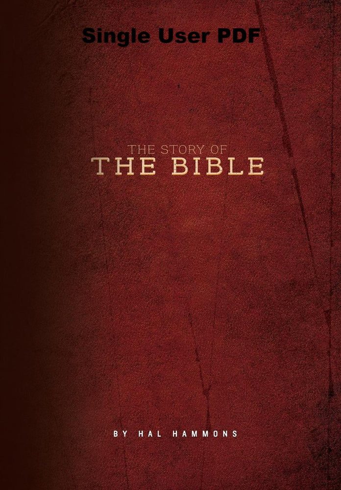 The Story of the Bible - Downloadable Single User PDF