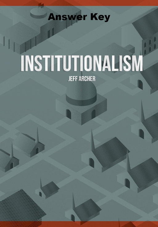 Institutionalism - Downloadable Answer Key PDF