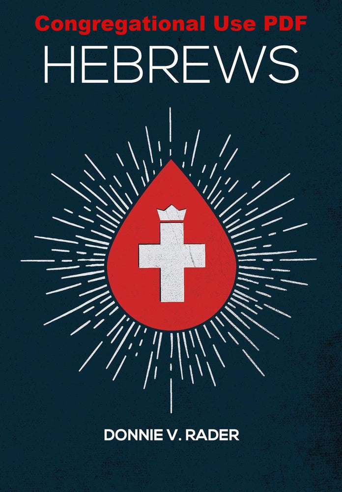 Hebrews - Downloadable Congregational Use PDF