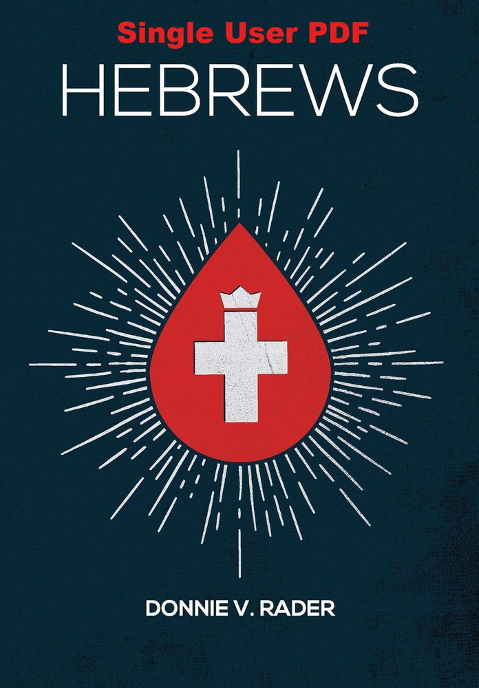 Hebrews - Downloadable Single User PDF