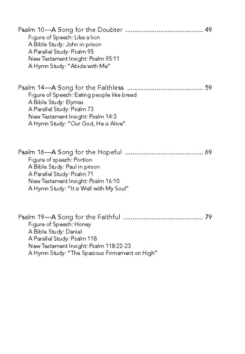 to your name a study of the psalms volume 1 downloadable