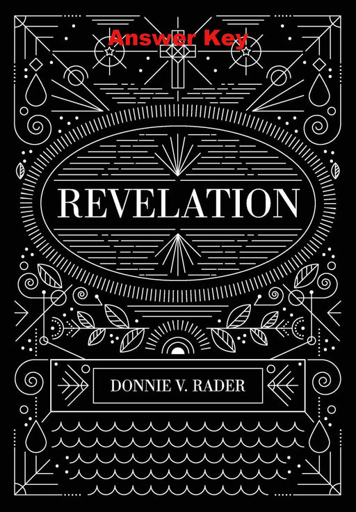 Revelation - Downloadable Answer Key PDF