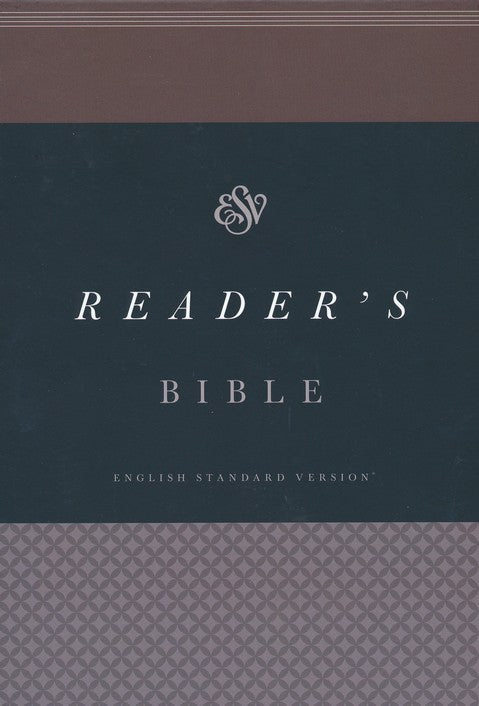 ESV Reader's Bible Brown TruTone