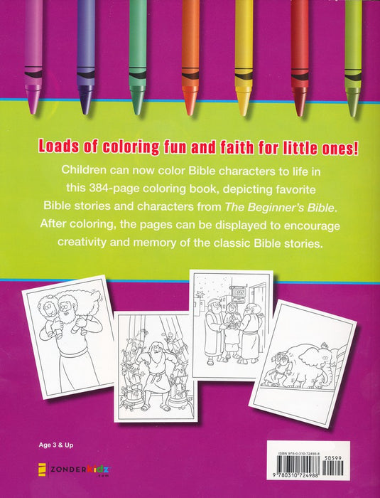 - The Beginner's Bible Super-Duper Mighty Jumbo Coloring Book — One Stone  Biblical Resources