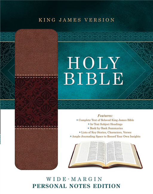 The KJV Journaling Bible,  Brown Bonded Leather