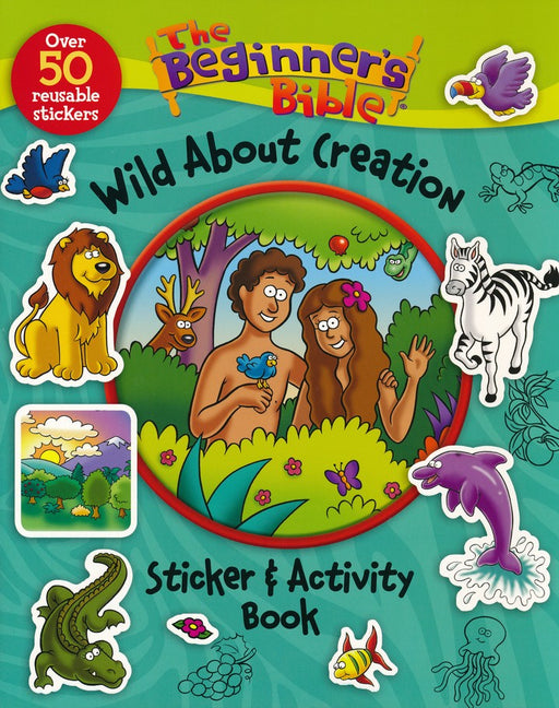 The Beginner's Bible Wild About Creation Sticker & Activity Book
