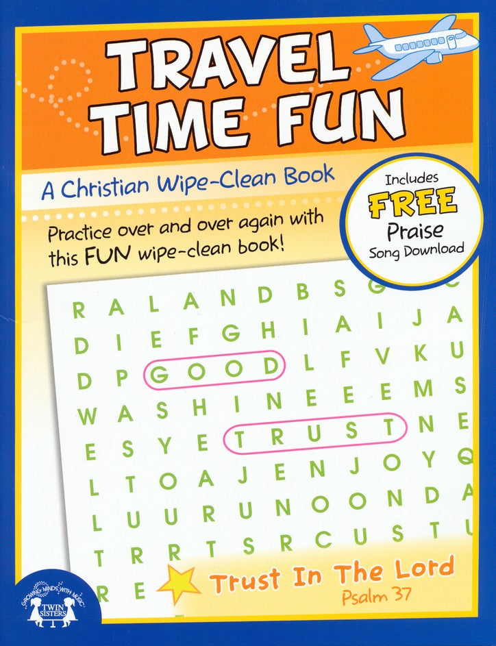 Travel Time Fun Wipe Clean Activity Book
