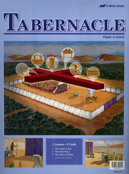 The Tabernacle A Beka Flash-A-Cards
