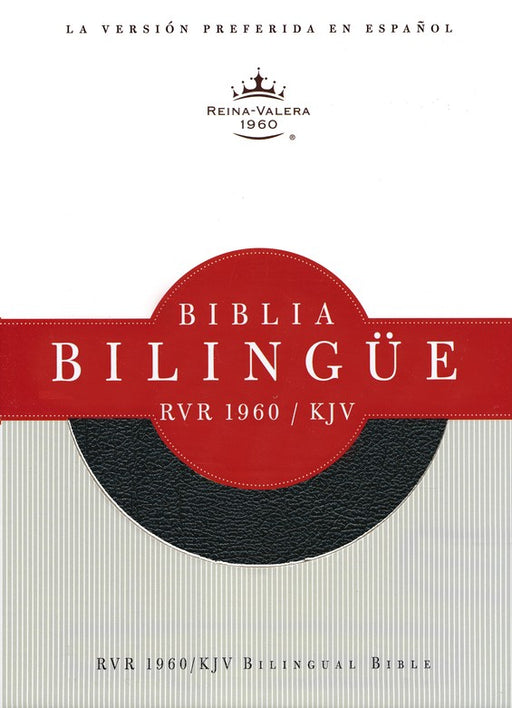 RVR 1960/KJV Biblia Bilingue Negro (Bible RVR 1960/KJV Bilingual Bible)
