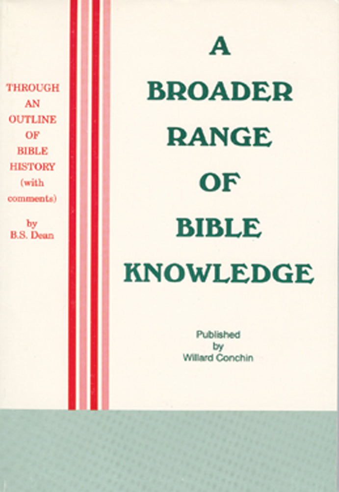 A Broader Range of Bible Knowledge