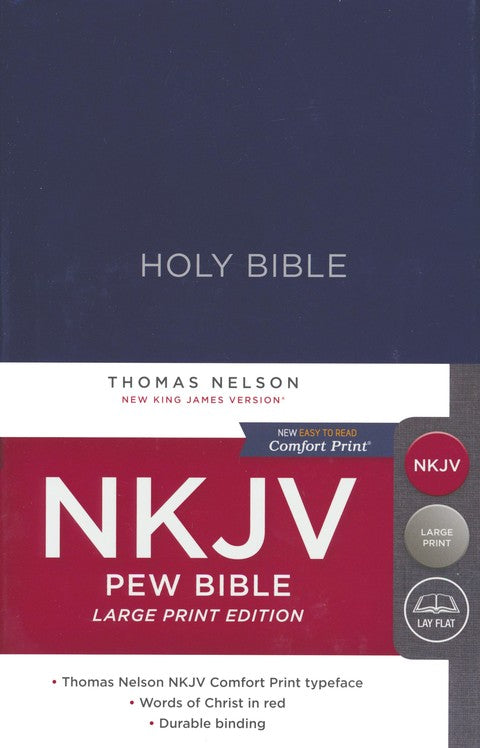 NKJV Large Print Pew Bible