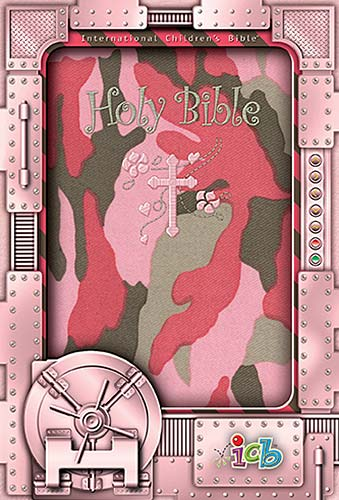 ICB International Children's Camo Bible (Pink)