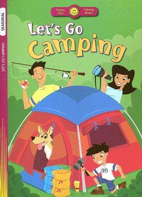 Let's Go Camping Coloring Book