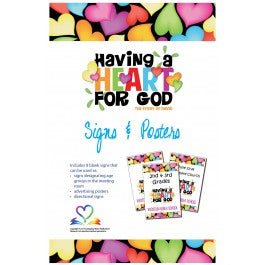 Having A Heart for God - Signs & Posters